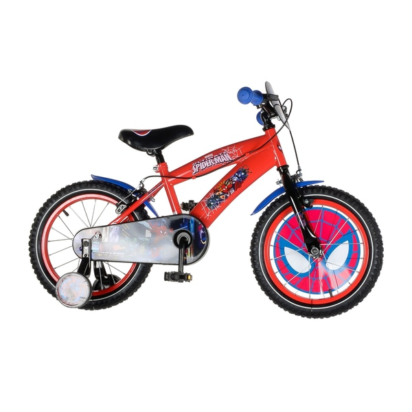 16 Inch Ultimate Spider Man Bike 16 Bikes 5 7yrs Uk