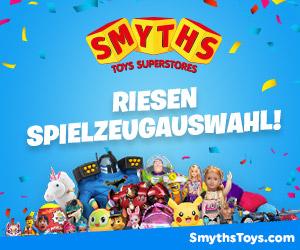 Smyths Toys Toys Superstores - Riesen Spielzeugauswahl