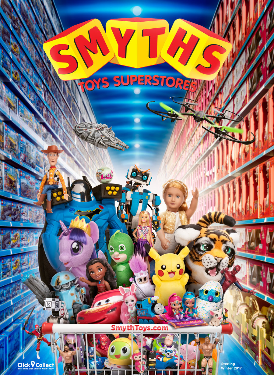 A massive toy, games and entertainment retailer, Smyths sell products for children from birth onwards. Customers can get cut price deals by using promo codes when they shop online, and it's also possible to buy eGift vouchers from Smyths for other people.
