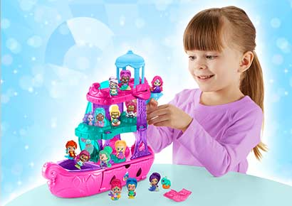 New Shimmer & Shine toy range is now at Smyths Toys UK