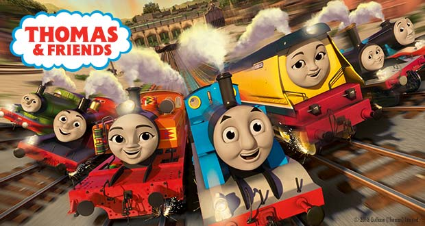 All aboard with Thomas & Friends on their brand new adventure around the globe! Check out the exciting range of Thomas & Friends toys including engines, ...