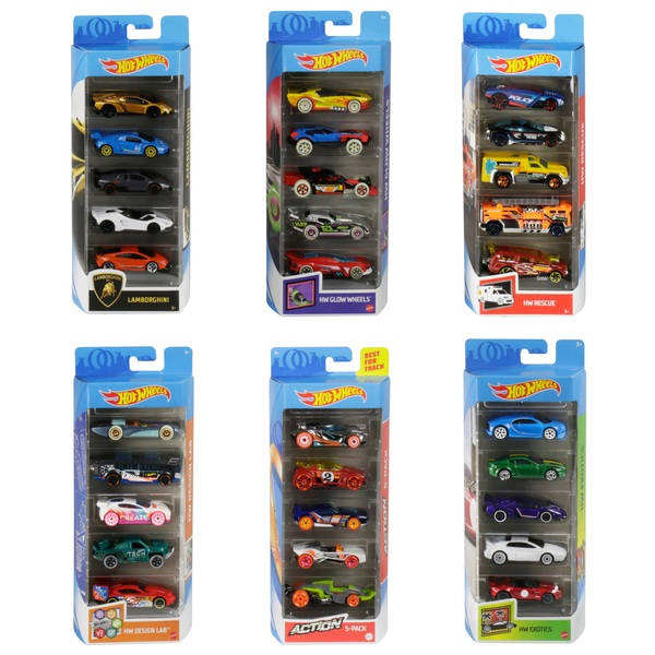Hot Wheels 5 Car Pack Assortment Hot Wheels Cars Uk