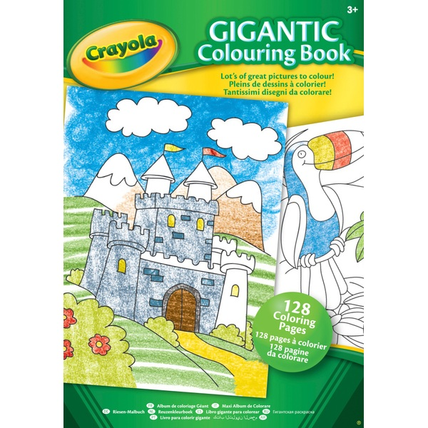 Crayola Gigantic Colouring Book - Crayola Ireland