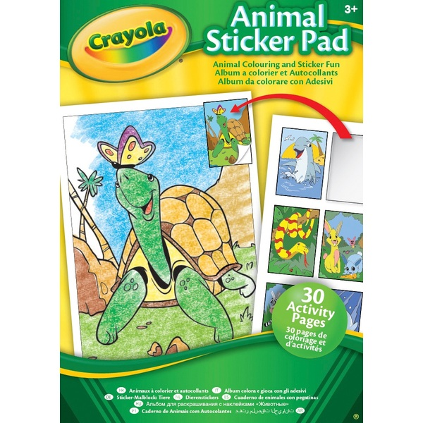 Crayola Animal & Activity Sticker Pads - Assortment