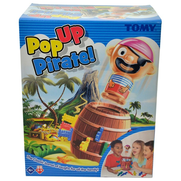 Jumping Pirate Sword Board Game Super Pop Up Kids Toy Fun for Children UK