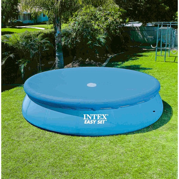 intex 10ft easy up pool cover pools uk. Black Bedroom Furniture Sets. Home Design Ideas