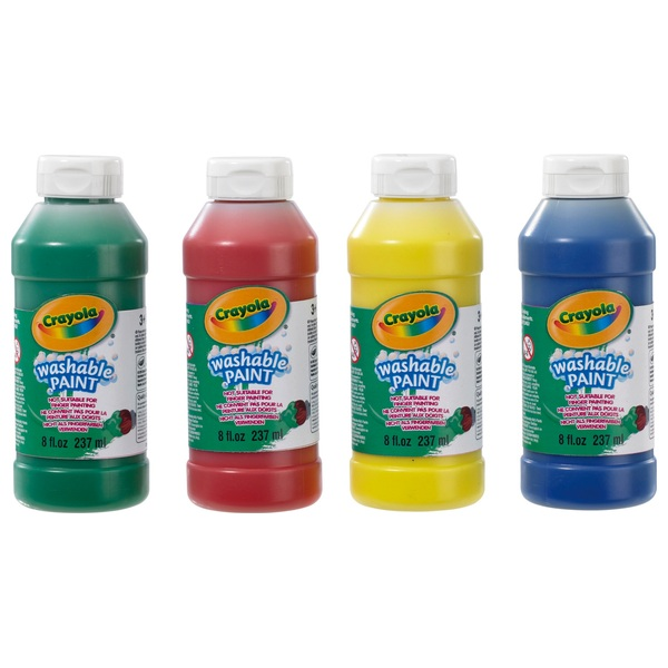 Crayola 4 Pack Washable Paint