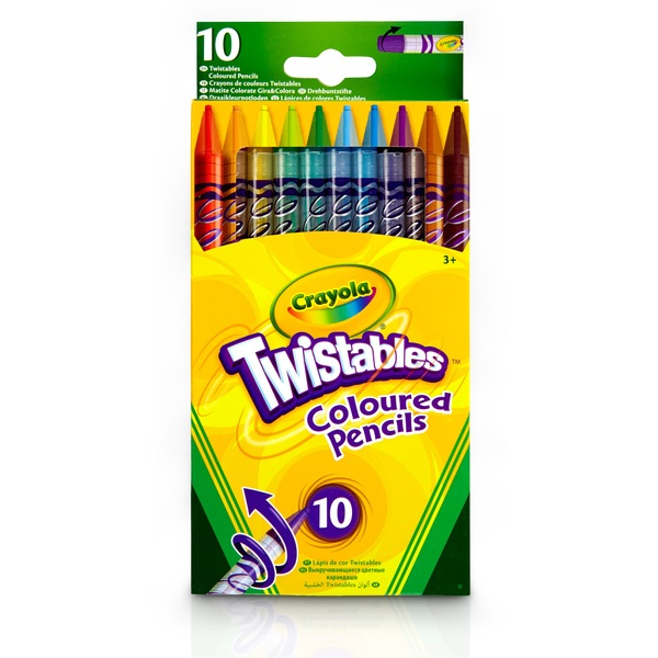 Crayola 10 Twistable Pencils