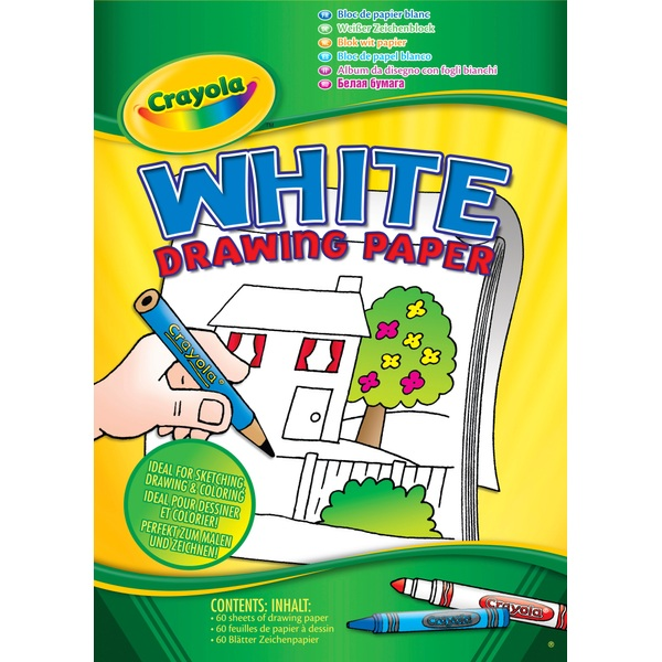 Crayola A4 White Paper Pad