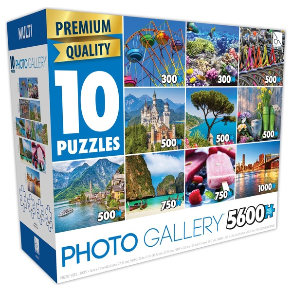 Premium Quality 10 in 1 Photo Gallery Puzzles