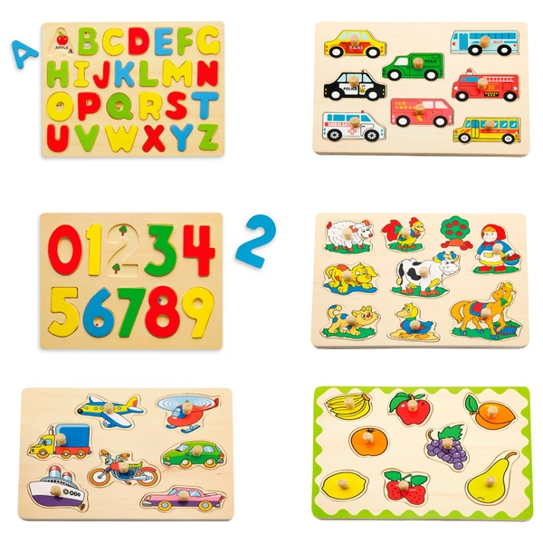 Wooden Flat Puzzles