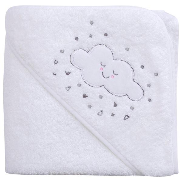 Clevamama 100% Cotton Apron Baby Bath Towel
