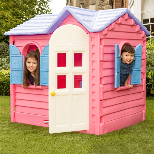 Outdoor Playhouses Toy : Little tikes pink country cottage playhouse play houses