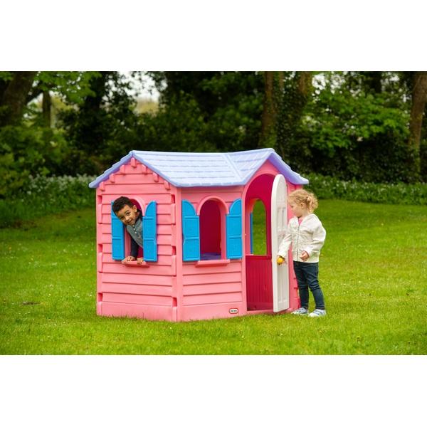 Fine Little Tikes Pink Country Cottage Playhouse Play Houses Tents Uk Download Free Architecture Designs Saprecsunscenecom