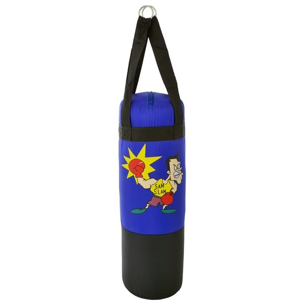Punching Bag with Boxing Gloves