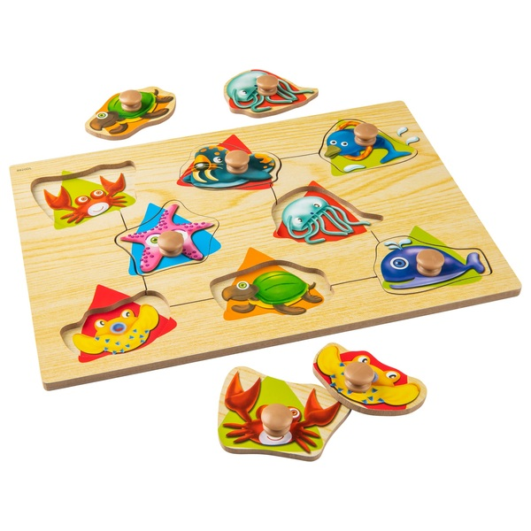 Wooden Easy Grab Puzzles