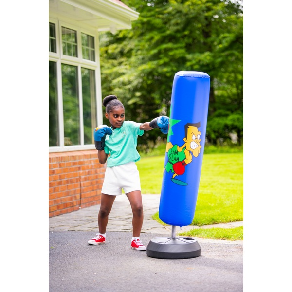 Boxing Stand with Gloves Smyths Toys UK