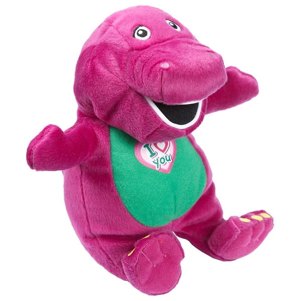 I Love You Barney 25cm