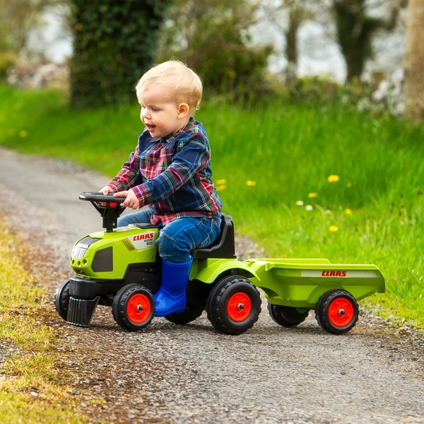 Baby Claas Sit 'n' Ride Tractor and Trailer