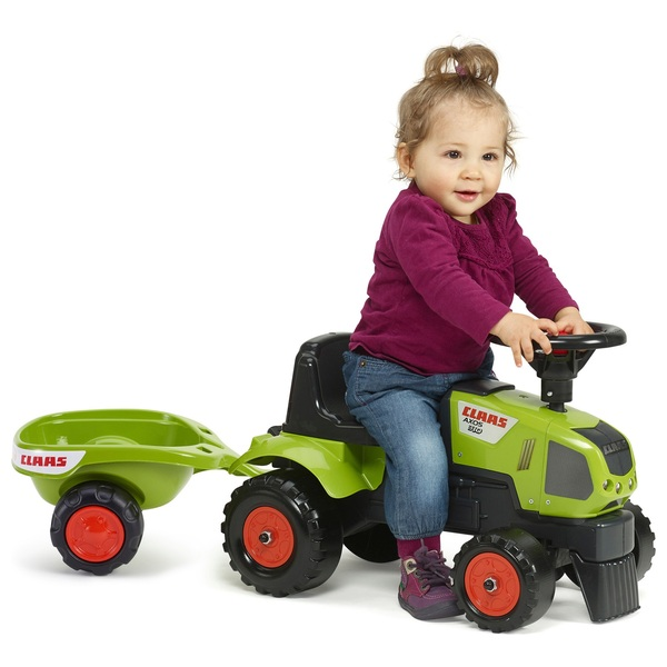 Baby Claas Sit N Ride Tractor And Trailer Tractors