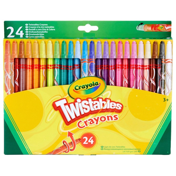 Crayola 24 Twistable Crayons