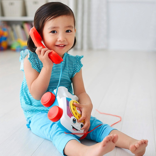 Fisher- Price chatter telephone pull along toy