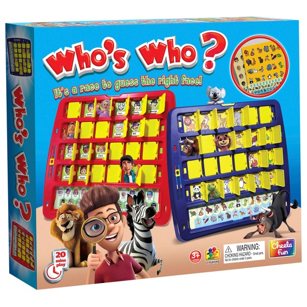 Who's Who? Game