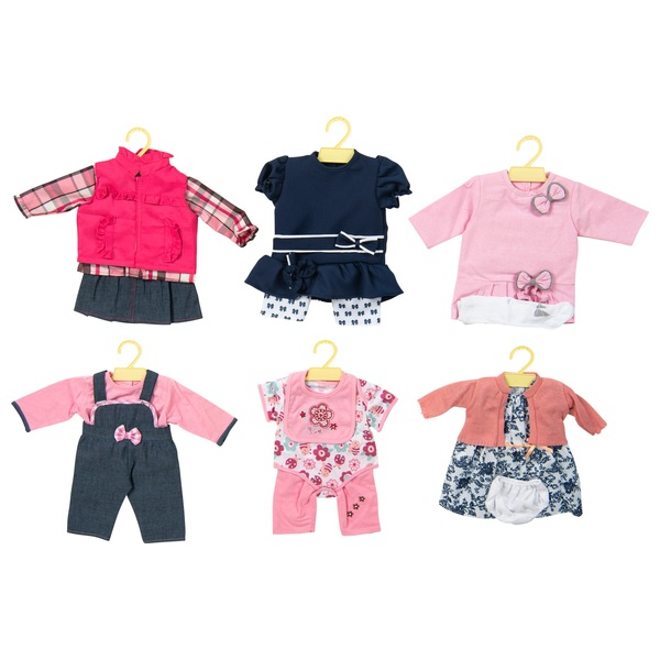 Doll's Assorted Outfits 45 - 50cm