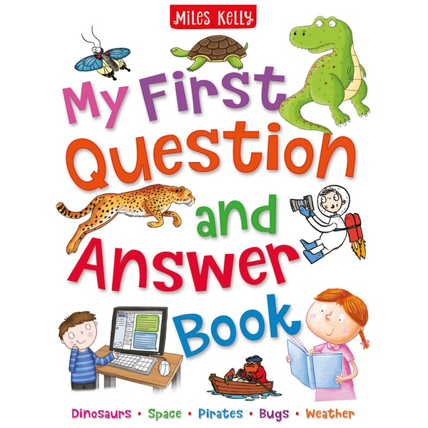 Miles Kelly My First Questions & Answers PB Book
