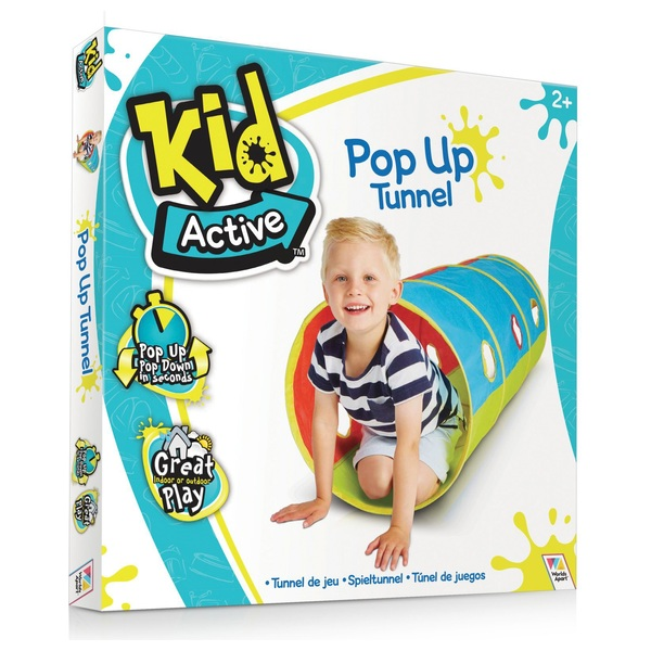 cheap for discount 53bf4 f25c0 Kid Active Pop Up Tunnel - Play Houses & Tents UK