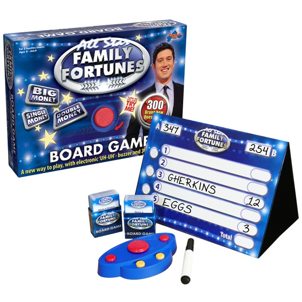 All Star Family Fortunes Game