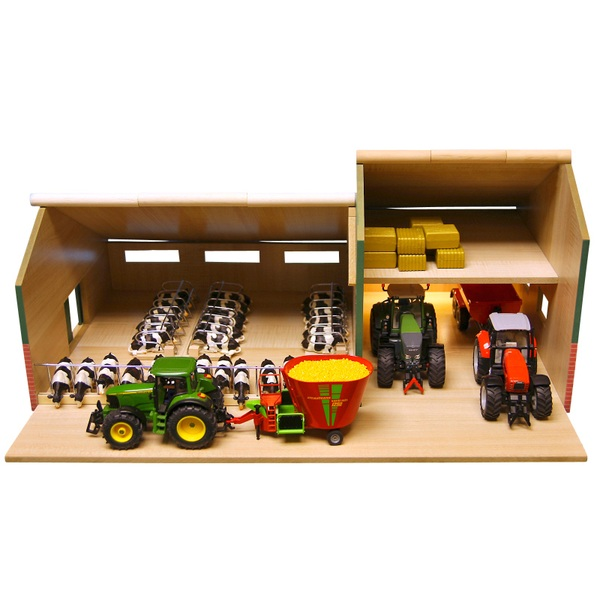 Wooden Cattle and Machinery Shed