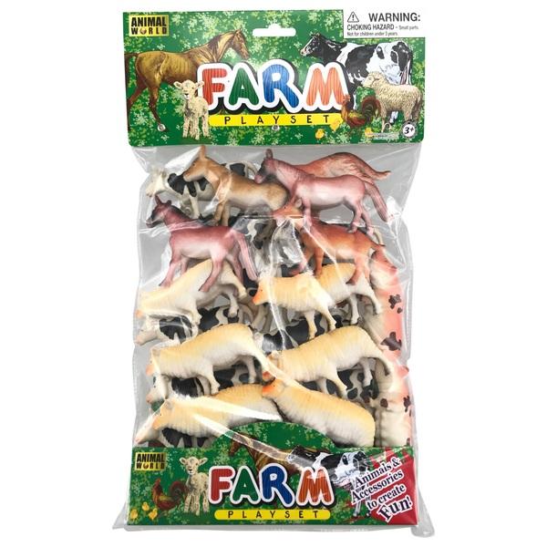 Farm Animals 24 piece set