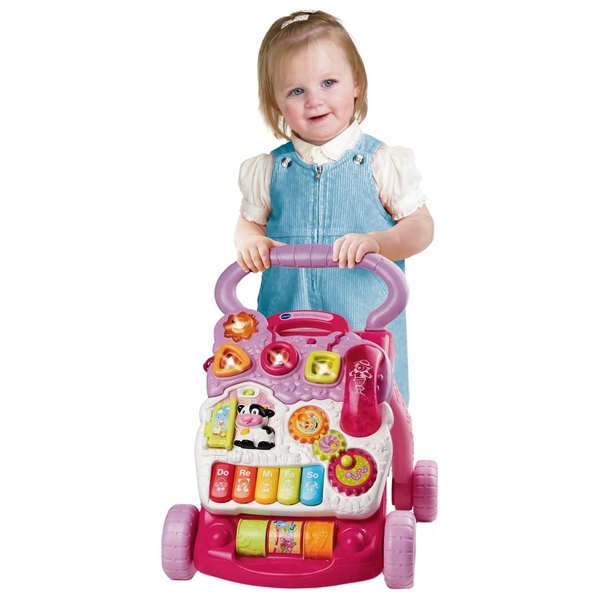 VTech First Steps Baby Walker Pink 1.0