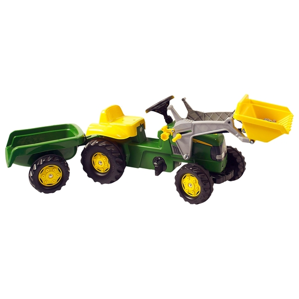 John Deere Tractor Trailer And Loader