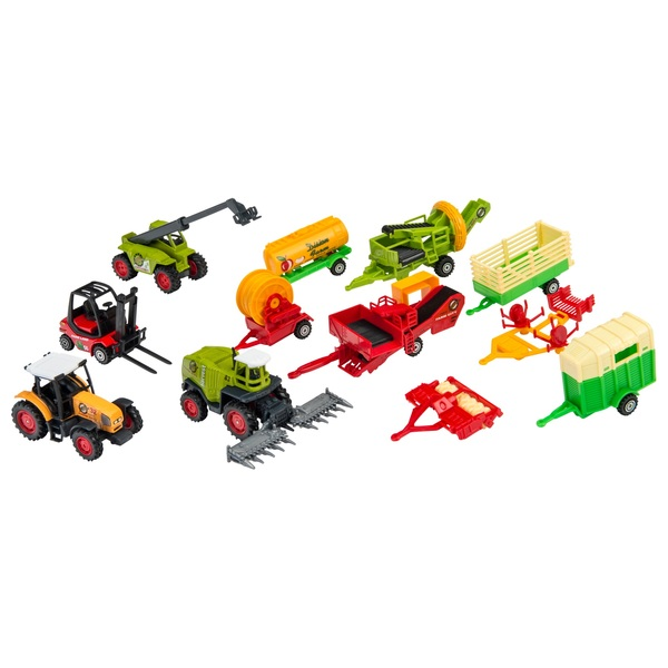 RevZ 12 Pack Diecast Farm Playset