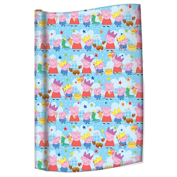 Peppa Pig Wrapping Paper 4m