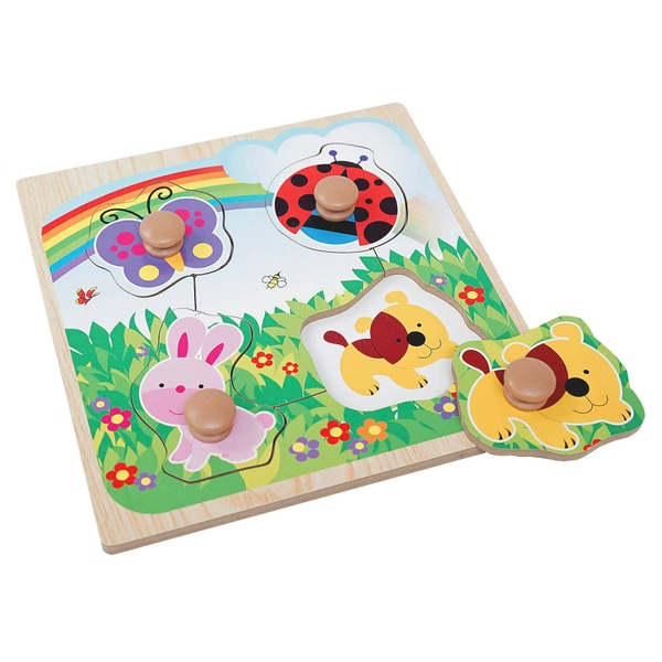 Easy Grab Wooden Puzzle