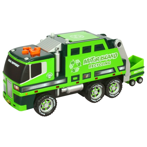 Road Rippers Motorized Refuse and Recycle Truck - Assortment