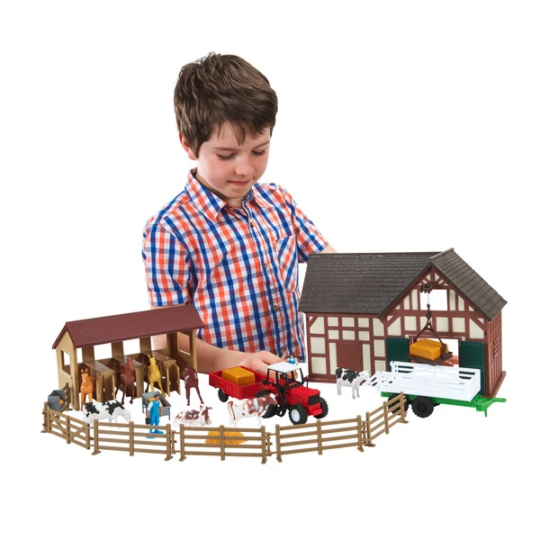Toys For Big : Country life farm set vehicles accessories uk