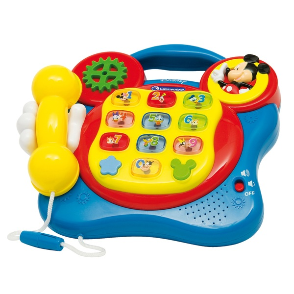 Mickey Mouse Toys : Disney clementoni mickey mouse telephone