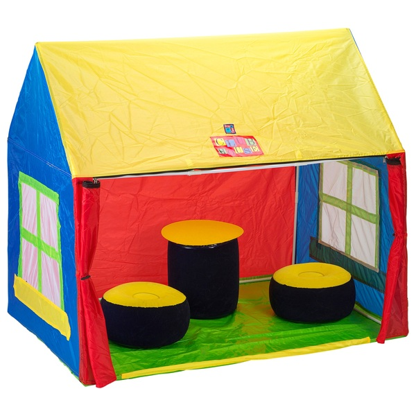 club house tent club house tent combo sc 1 st smyths toys. Black Bedroom Furniture Sets. Home Design Ideas