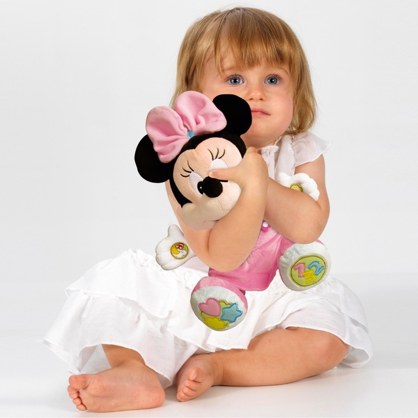 Disney Clementoni Minnie Mouse Talking Plush