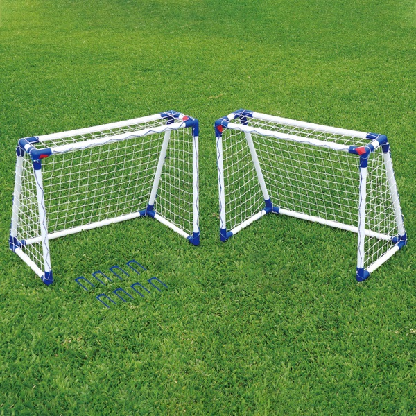 2 Junior Football Goal Set