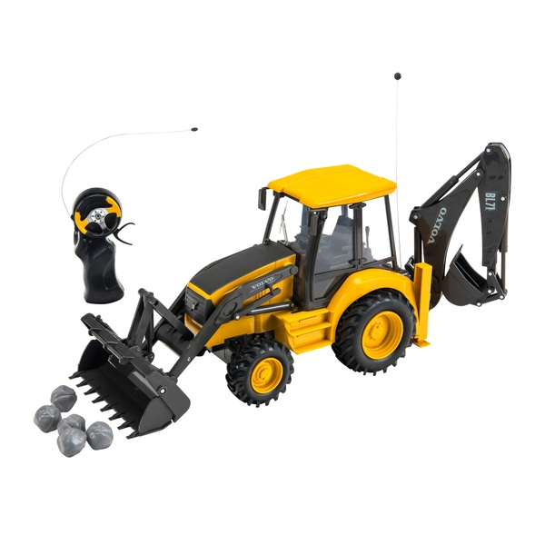 1:18 Radio Control Volvo Backhoe Loader