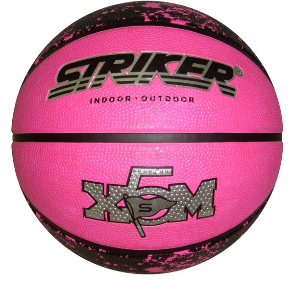 Size 5 Pink Rubber Basketball