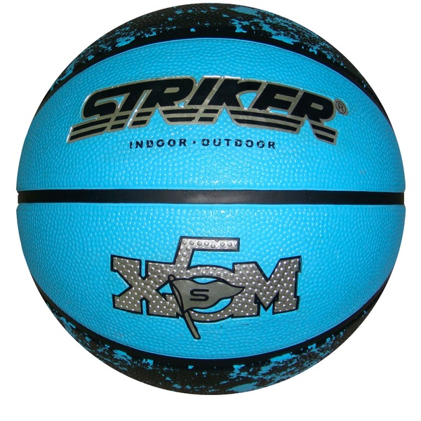 Size 5 Blue Rubber Basketball
