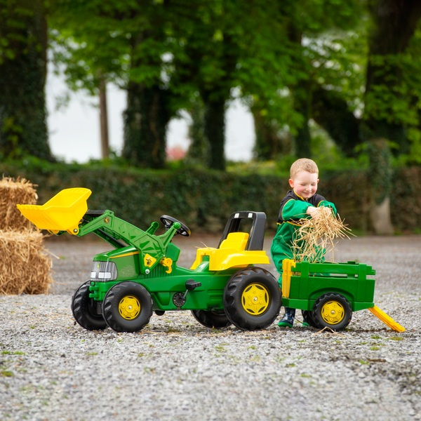 John Deere Large Tractor Trailer And Loader Tractors Uk