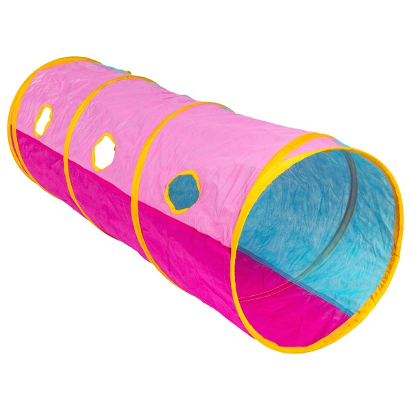 Kid Active Pink Pop-Up Tunnel