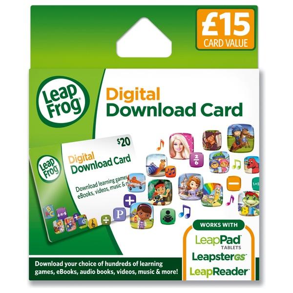 LeapFrog App Download Card - £15